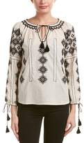 Love Sam Embroidered Blouse.