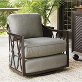 Tommy Bahama Sands Swivel Patio Chair with Cushion Outdoor