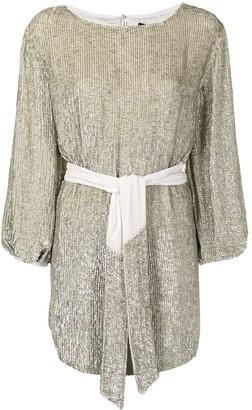 retrofete Sequinned Mini Dress