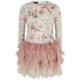 Kate Mack Kate MackFloral Lace Print Tulle Dress