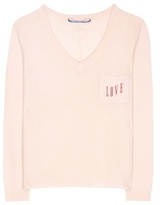 81 Hours 81hours Coralin Embroidered Cashmere Sweater