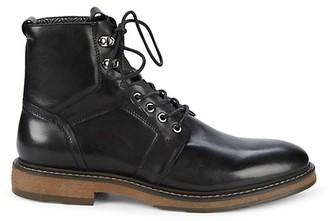 Saks Fifth Avenue Baylor Leather Combat Boots