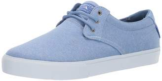 Lakai Footwear Summer 2019 DALY Blue Textile Size 8 Tennis Shoe M US