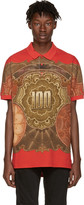 Givenchy Red Money Polo