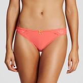 Gilligan & O Women's Brushed Micro Thong - Gilligan & O'Malley