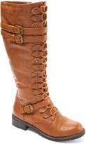 Wild Diva Cognac Timberly Boot
