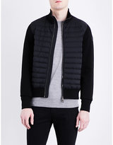 Moncler Cardi Quilted Knitted Jacket