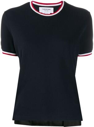 Thom Browne RWB trim T-shirt