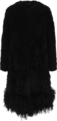 Prada Fur Long Coat