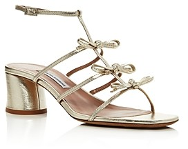 Tabitha Simmons Women's Covie Mid-Heel Strappy Sandals
