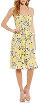 BB Dakota Joss Printed Midi Dress