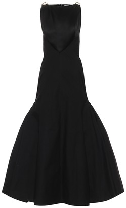 Loewe Cotton and silk sleeveless gown