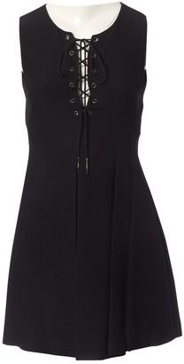Miu Miu Black Wool Dress for Women
