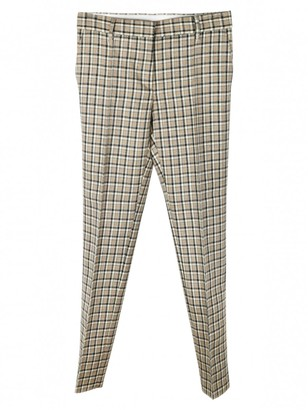 Mulberry Grey Wool Trousers
