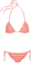 Melissa Odabash Bel Air printed triangle bikini