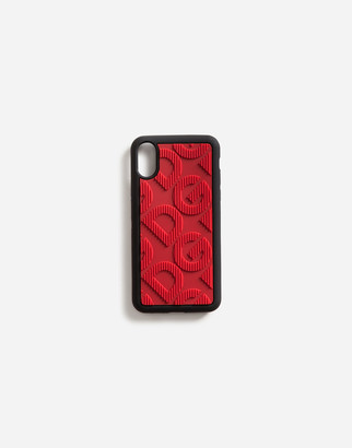 Dolce & Gabbana Rubber Iphone X Case With Logo
