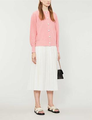 Claudie Pierlot Majuscule knitted cardigan