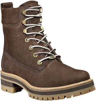 "Timberland Women Courmayeur Valley 6"" Lace-Up Leather Boots Women Shoes"