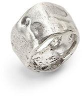 Uno de 50 Hammered Metal Ring