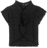 Proenza Schouler Tweed Crop Top