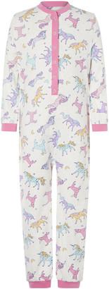Under Armour Unicorn Jersey Sleepsuit in Organic Cotton Ivory