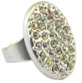 Dolce Vita Creative ring 'Illuminations' boreal silver - 26x20 mm (1.02''x0.79'').