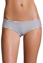 Mikoh Swimwear Bondi Striped Medium Coverage Bottom