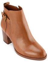 Lauren Ralph Lauren Genna Leather Dress Booties