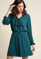 ModCloth Classy in Session A-Line Work Dress in M