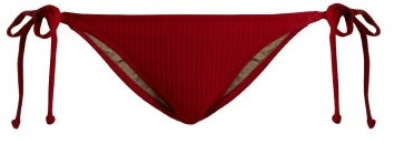 Made by Dawn Rapture Side Tie Bikini Briefs - Womens - Red