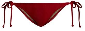 Made by Dawn Rapture Side-tie Bikini Briefs - Womens - Red