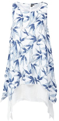 M&Co Izabel floral layered hem tunic