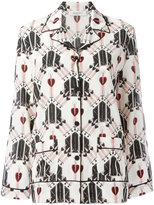 Valentino Love Dagger pyjama top - women - Silk - M