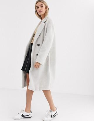 New Look tailored coat in grey