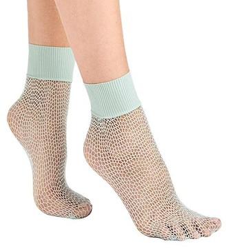 Wolford Uniform Net Socks