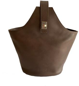 Kartu Studio Leather Convertible City Backpack Handbag Whortleberry Brown