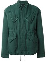 Haider Ackermann flap pocket jacket - men - Cotton/Linen/Flax - XS