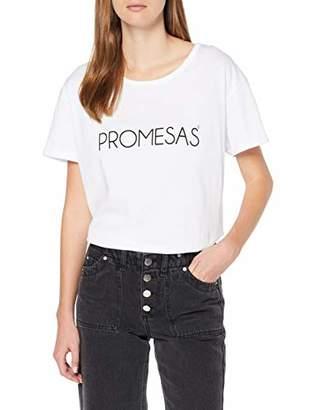 Dolores Promesas Women's 108168 T-Shirt,(Size: Tamaño del Fabricante S)