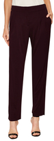 Akris Friday Buttoned Slim Pant