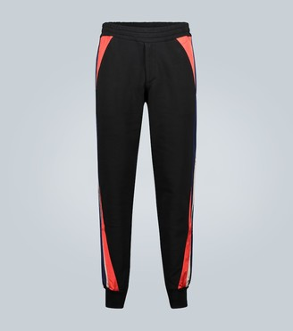 Alexander McQueen Jogger trackpants with patch inserts