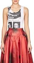 """Calvin Klein Women's """"Tunafish Disaster"""" Cotton Rib-Knit Tank"""