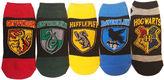 Asstd National Brand 5-pc. Harry Potter Low Cut Socks