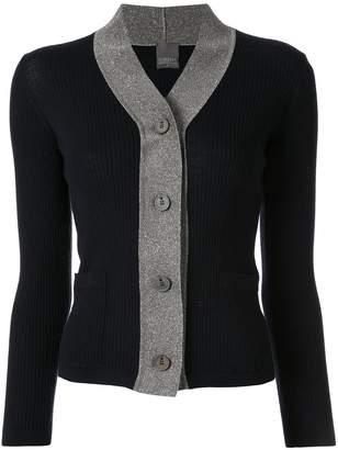 Lorena Antoniazzi color-block knit cardigan