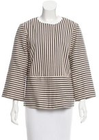 Tory Burch Casual Striped Jacket