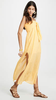 Vix Paula Hermanny Tess Strapless Dress