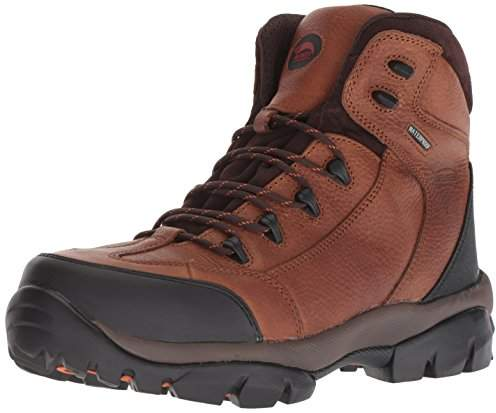 8dd942ab6bb Avenger 7244 Leather Waterproof Comp Toe No Exposed Metal EH Work Boot