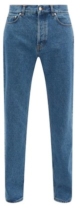 Séfr High-rise Straight-leg Jeans - Mens - Blue