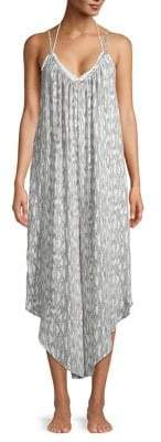 J Valdi Printed Cover Jumpsuit