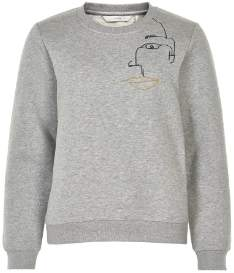 Nümph Drizzle Numinahil Sweatshirt - 7619703 - Bomuld and Polyester | l