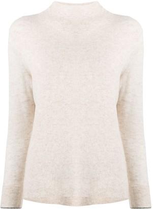 Calvin Klein High-Neck Knitted Jumper